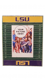 LSU Magnetic Football Field Picture Frame