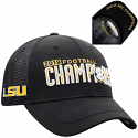 Men's Top of the World Black LSU Tigers 2019 SEC Football Champions On Field Locker Room Hat