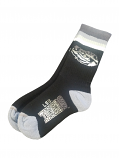 For Bare Feet LSU Tigers Youth Black &  Grey Crew Socks