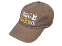 LSU ZEPHYR College Playoff National Champions Adjustable HAT - GREY