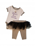 Gen2 LSU Infant Little Princess Onesie Tutu Set