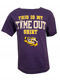 Outter Stuff LSU Infant Purple Time Out T-Shirt