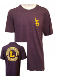 47 Brand LSU Adult Purple College Vault T-Shirt