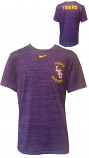 Nike LSU Men's Purple Standard Fit Legend Performance Baseball Tee