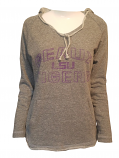 College Concepts LSU Women's Grey Geaux Tiger Hoodie