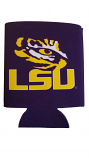 LSU Tigers Purple Tiger Eye Can Coozie