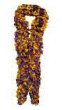 LSU Tigers Purple and Gold Featherless Happy Boa