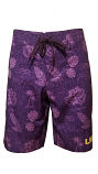 Chiliwear LSU Purple Honolulu Swim Shorts