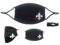 Fleur De Lis Adjustable Adult Face Mask
