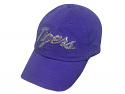 Top of the World LSU Women's Purple Sequined Cotton Twill Relaxed Adjustable Hat