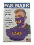 Wincraft LSU Purple 2-Ply Lighweight Fan Face Mask