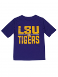 Gen2 LSU Tigers Boy's Purple Polyester Tee