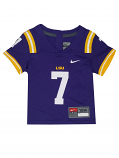 Nike LSU Infant Purple #7 Untouchable Replica Footbal Jersey