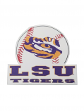 Crafitique LSU Small Baseball Magnet