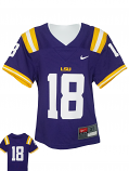 Nike LSU Toddler's Purple #18 Untouchable Football Jersey