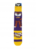 LSU Madness Graphics Socks