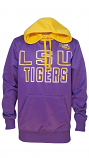 LSU Jimmy Fallon Hands High Purple and Gold Polyester Hoodie