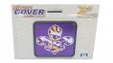 "Crafitique LSU Fleur de Lis 2"" Hitch Cover"