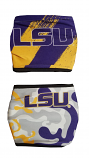 LSU Boy's One Size 2 Piece Face Coverings