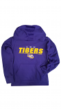 Gen2 LSU Tigers Youth Purple Polyester Hoodie