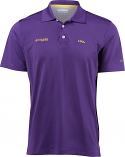 Columbia LSU Men's Purple Skiff Cast Performance Polo