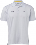 Columbia LSU Men's White Skiff Cast Performance Polo