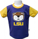 LSU Childs Purple & Gold Mike the Tiger Tee