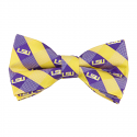 LSU Bow Tie Check Woven Polyester