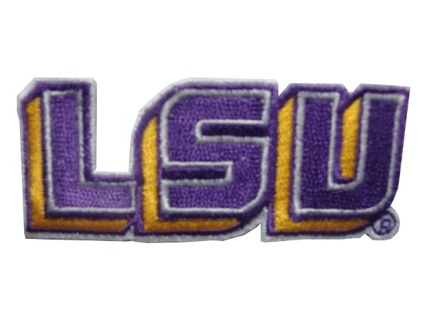LSU Embroidered Patch