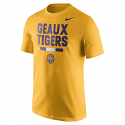 Nike LSU Men's Cotton Local Verbiage DNA Tee - Gold