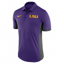 LSU Men's Evergreen Dri-Fit Polo - Purple