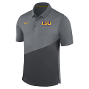 Nike LSU Men's Grey Stadium Polo