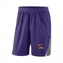 Nike LSU Men's Purple & Grey Standard Fit Franchise Short
