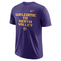Nike LSU Men's Purple Welcome to Tiger Stadium Local Dri-Fit Tee