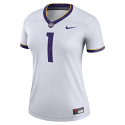 Nike LSU Women's White #1 Legend Jersey