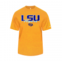 Badger LSU Men's Gold Tonal Blend Performance Tee