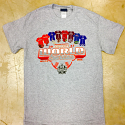 LSU CWS 8 TEAM TEE - Grey