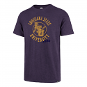 LSU Men's Purple Cotton Louisiana State University Baseball Tee