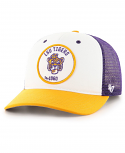 '47 Brand LSU Swell MVP Trucker Snapback Low Profile Cap