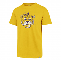 47 Brand LSU Adult Gold Vintage Throwback '47 Club Tee