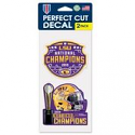 LSU Tigers National Champions 2-Pack DECAL