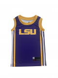 Team Works LSU Youth Purple Basketball Jersey