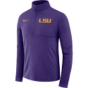 Nike LSU Men's Purple Core Half Zip Pullover Jacket