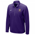 Nike Men's Purple Quarter Zip Dri-FIT Pullover Training Jacket