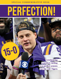 PERFECTION!  Celebrating a National Championship for the LSU Tigers BOOK