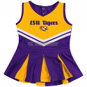 LSU Colosseum Infant Pom Pom Cheerleader Dress