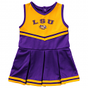 Colosseum LSU Infant Girl's Purple Pinky Cheer Dress