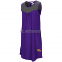 Colosseum LSU Girl's S'More Strappy Back Dress Tank - Purple & Grey