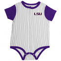 Colosseum LSU Infant Boy's Sultan of Swat Onesie - Purple, Grey & White