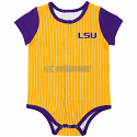 LSU Boy's Gold Colosseum Winkler Baseball Onesie
